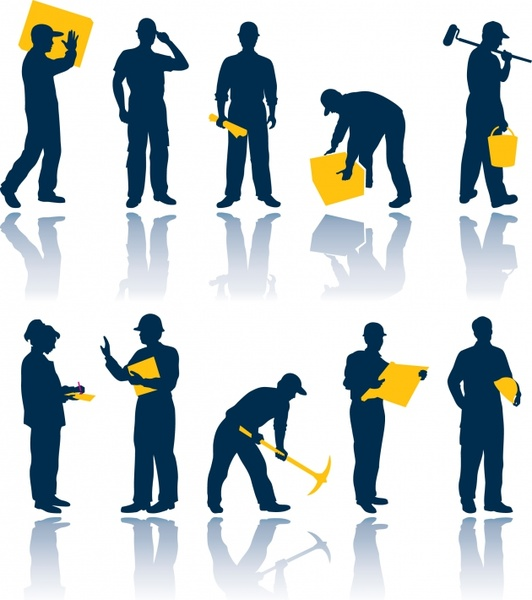 532x600 Maintenance Workers Vector Free Vector In Encapsulated Postscript