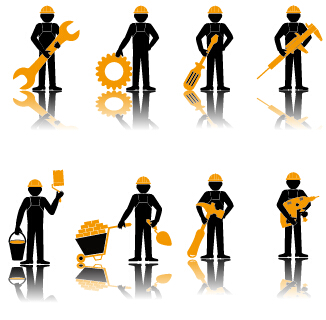 326x320 Worker With Repair Service Vector 02