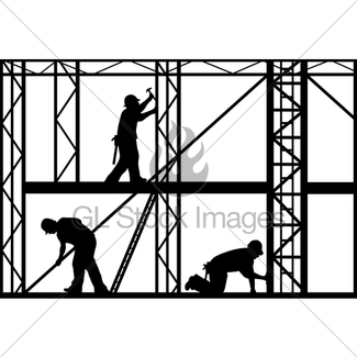 325x325 Construction Workers Gl Stock Images