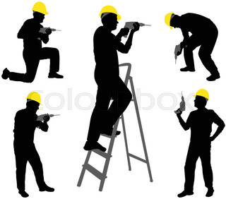 320x282 Construction Workers Silhouettes