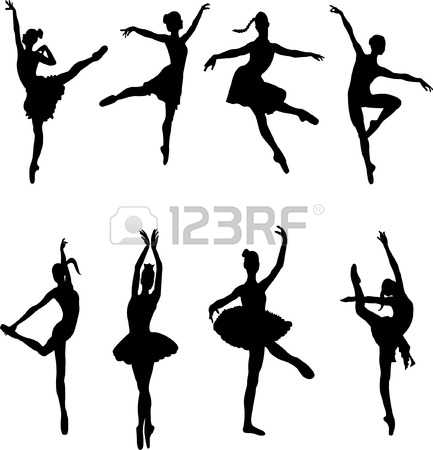 433x450 Dancing Clipart Modern Dance