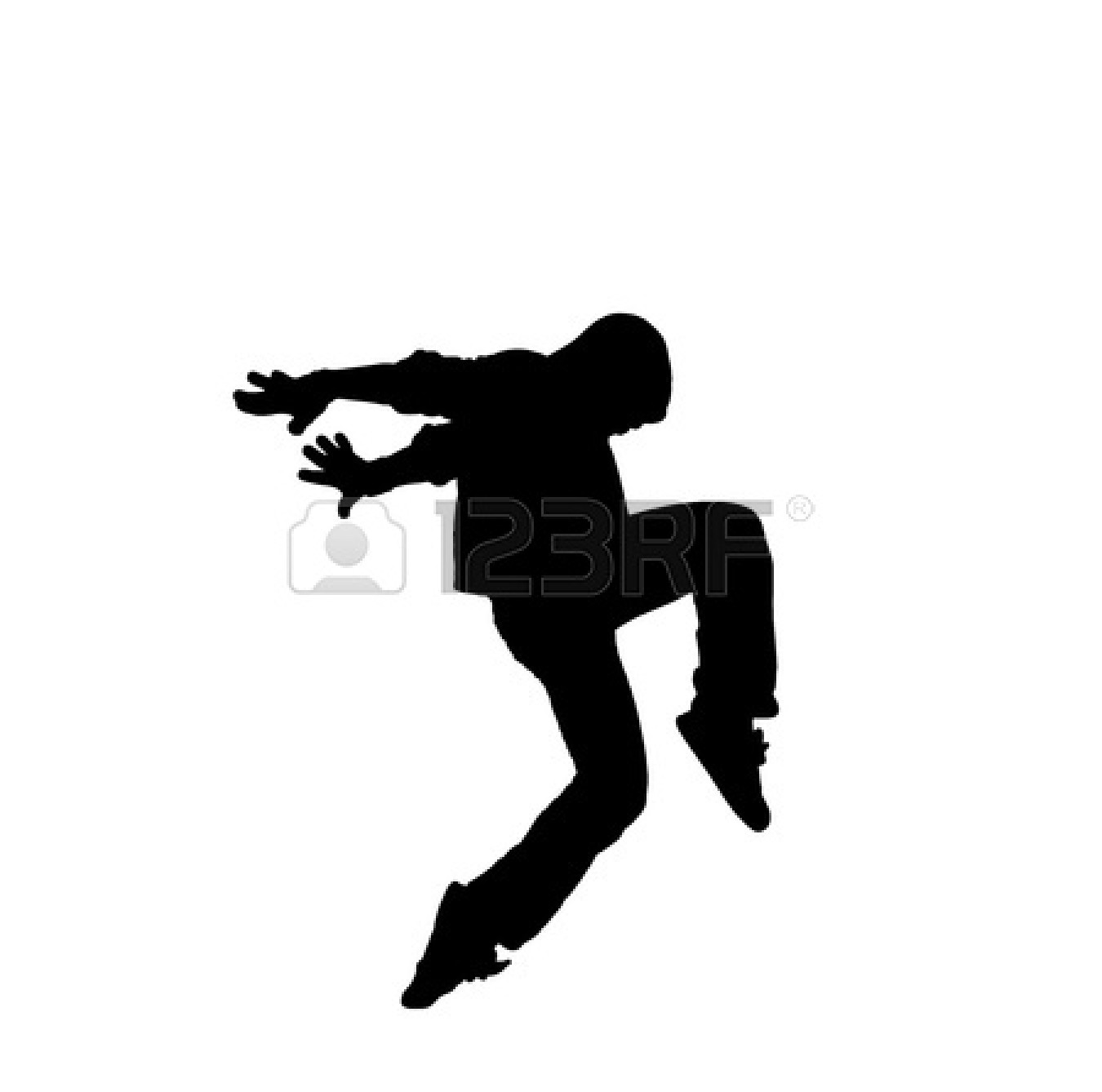 1350x1338 Hip Hop Dancer Clipart