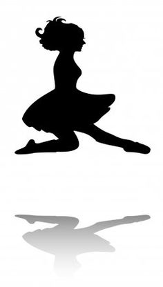 236x416 Irish Dancer Silhouette Clipart