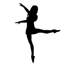 261x227 Pics For Gt Lyrical Dancer Silhouette Delicate Dancing