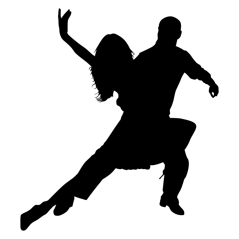 3000x3000 Contemporary Dancer Silhouette Clipart