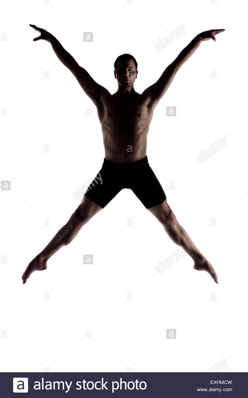 866x1390 Silhouette Of An Muscular Adult Male Modern Contemporary Ballet