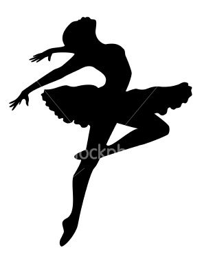 294x380 Ballerina Silhouette Ballerina Silhouette, Ballerina And Silhouette
