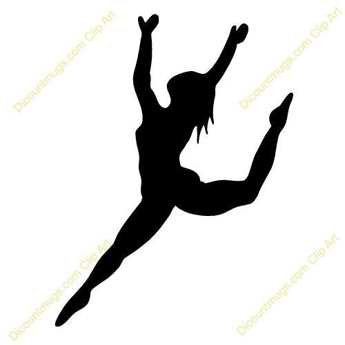 500x500 Ballet Clipart Contemporary Dancer