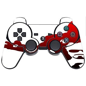 342x342 Decal Sticker Lt Lt Iron Man Red Silhouette Design Print Image Ps3