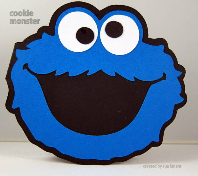 672x599 Cookie Monster By Susiespotless