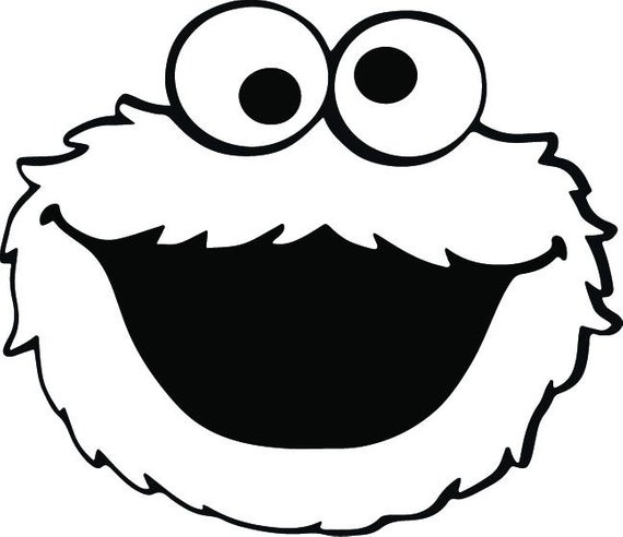 570x492 Cookie Monster Svg Elmo Svg Monster Svg Cookie Monster