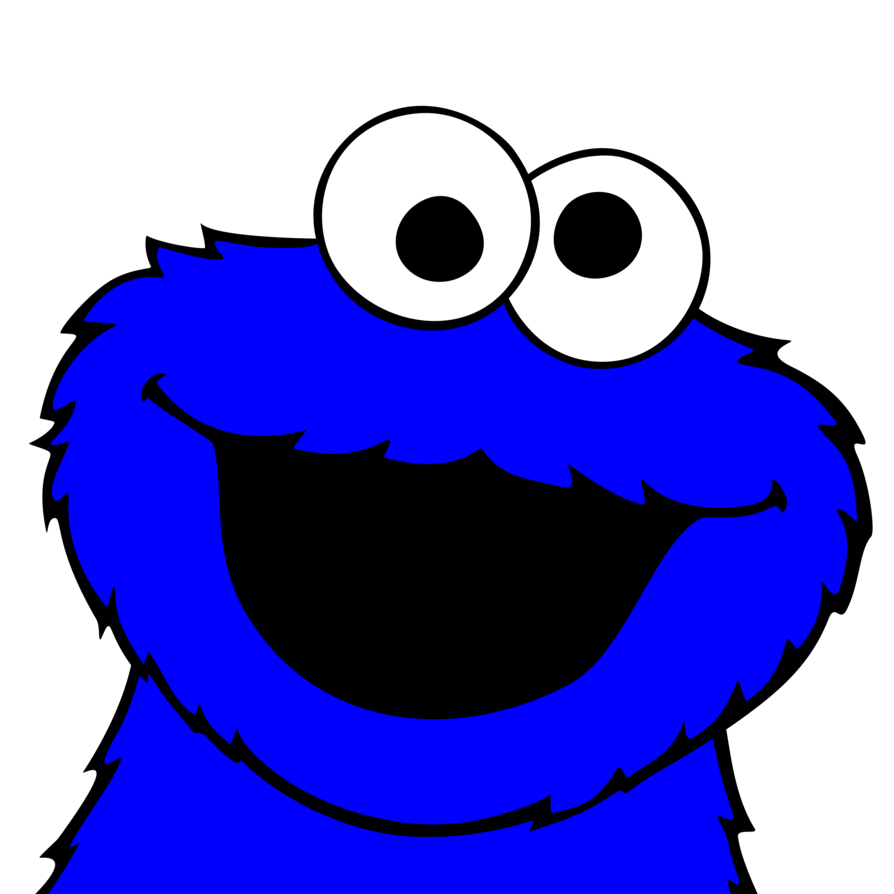 894x894 Cookie Monster Pictures Cookie Monster Vector By ~plzexplode