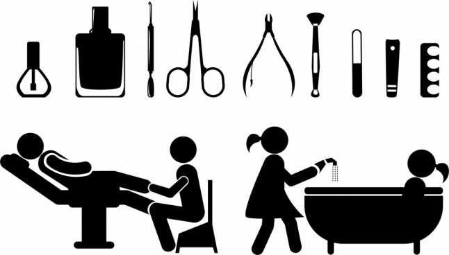 Cooking Silhouette