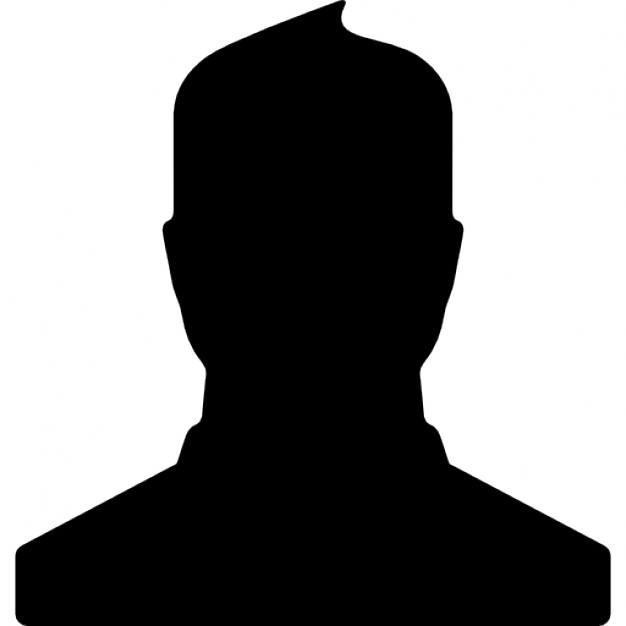 626x626 Male Profile User Shadow Icons Free Download