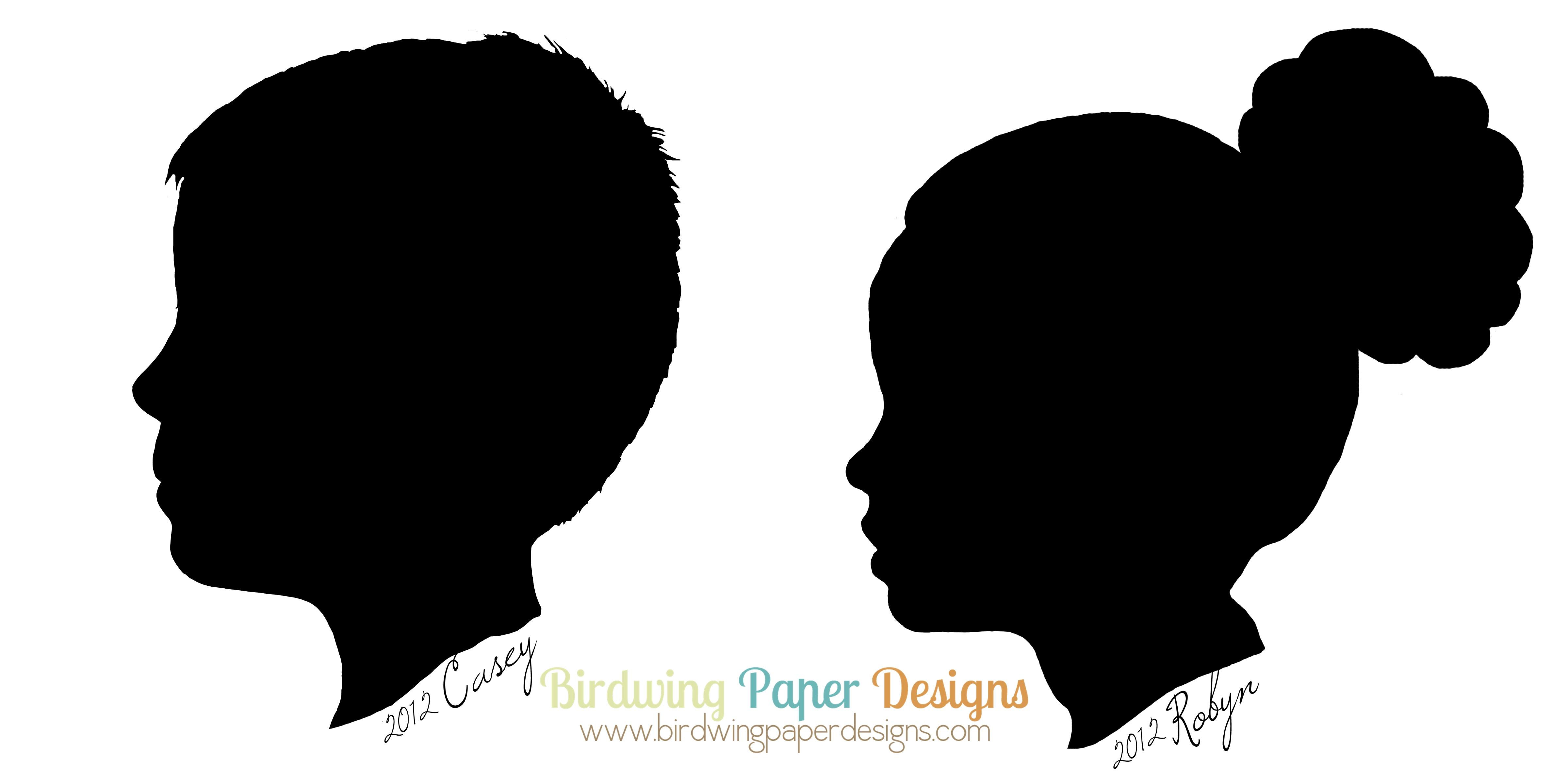 4800x2400 Simple Silhouettes Birdwing Paper Designs