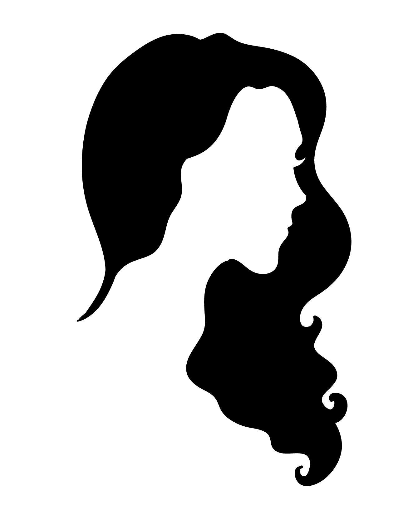 1275x1650 Great Cool Silhouette