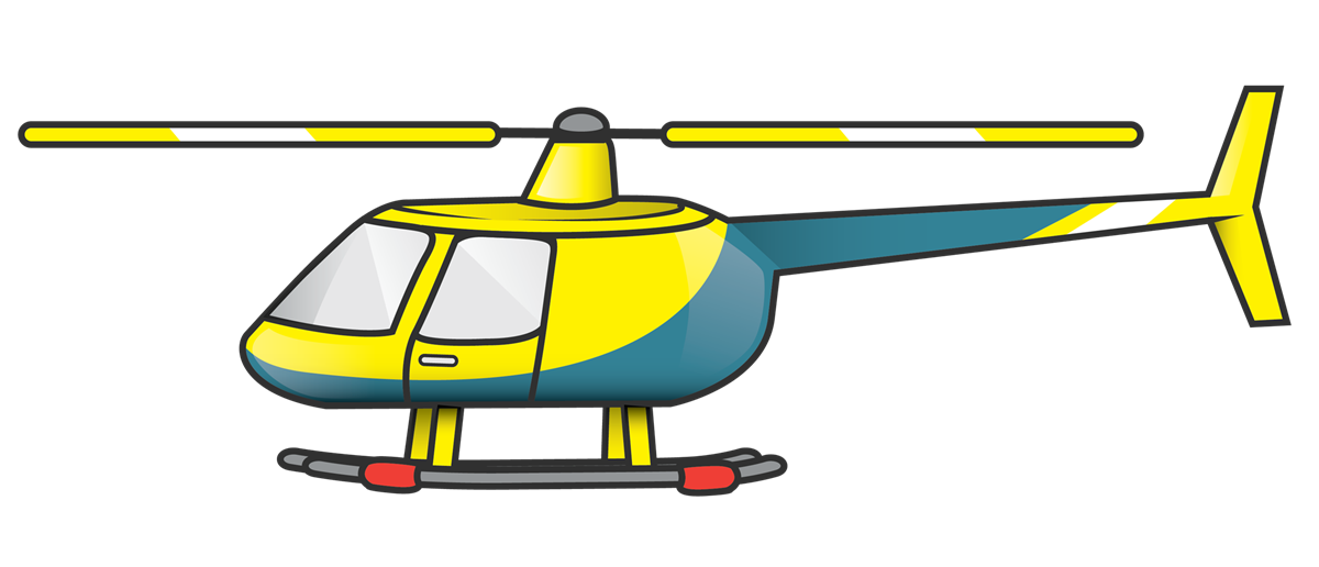 1200x516 Cool Clipart Helicopter