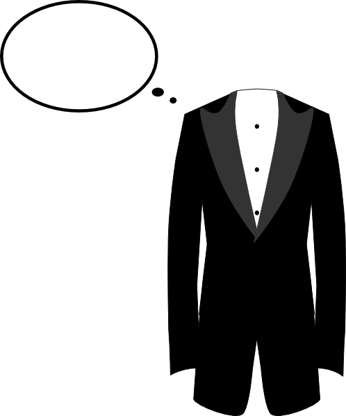 498x599 Suit Clipart
