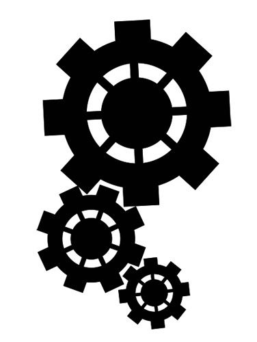 376x500 Steam Punk Upper Arm Tattoo Design Svg Die Cutting