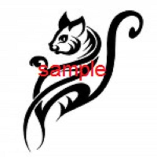 500x500 Tribal Cat Swirl Cross Stitch Chart Cross Stitch Charts, Chart