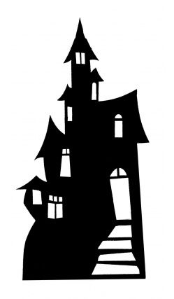 249x427 Cool Haunted House For Wall Decoration Scooby Doo Party