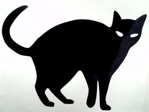300x226 Cat Outline Silhouette Cool Car Window Vinyl Decal Sticker Choose