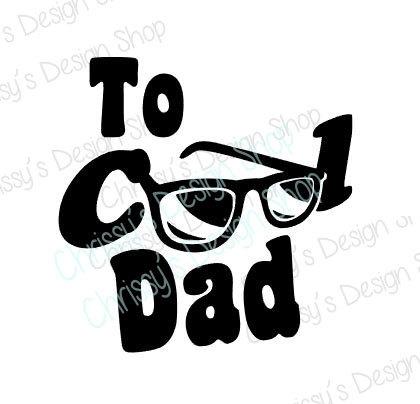 420x404 Cool Dad Svg File Cool Dad Silhouette Bundle Sunglasses Svg