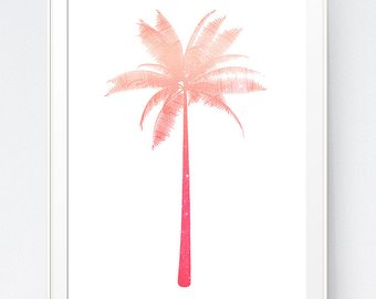 340x270 Pineapple Print Pink Coral Peach Pineapple Decor Pink
