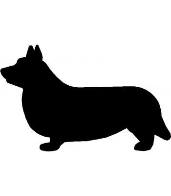 350x400 Dog Welcome Sign Breed Corgi