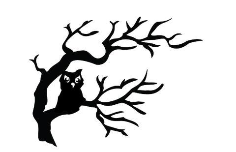 480x309 Halloween Owls Silhouette Vector Silhouettes Vector