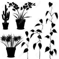 236x236 Little Plant Silhouette Vector Download Plant Vectors Plant