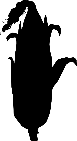 330x599 Black Corn Clip Art