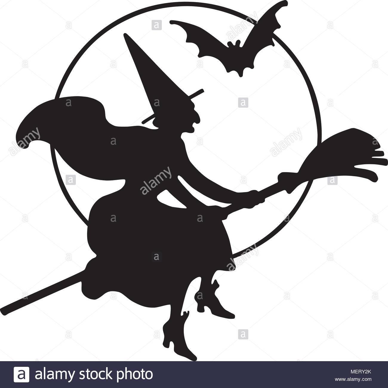 1300x1301 Witch Silhouette Stock Photos Amp Witch Silhouette Stock Images
