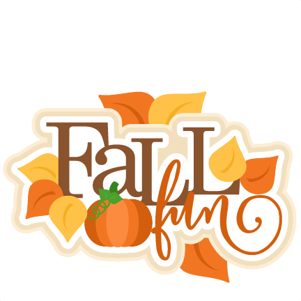 432x432 Fall Fun Title Svg Scrapbook Cut File Cute Clipart Files
