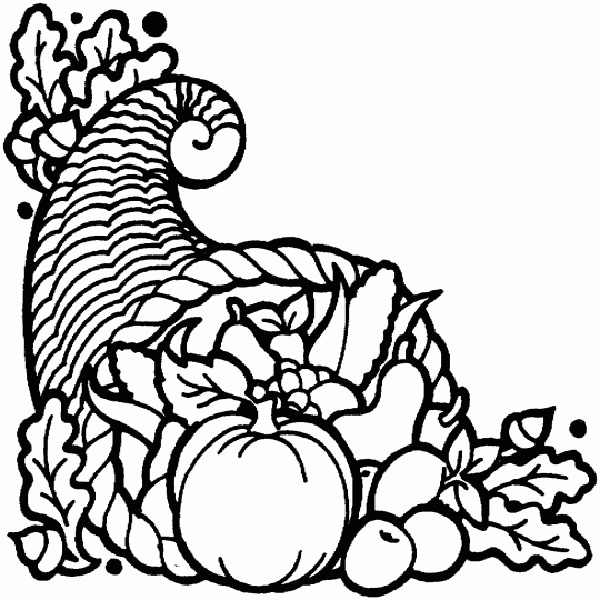 Cornucopia Silhouette at GetDrawings.com | Free for personal use ...