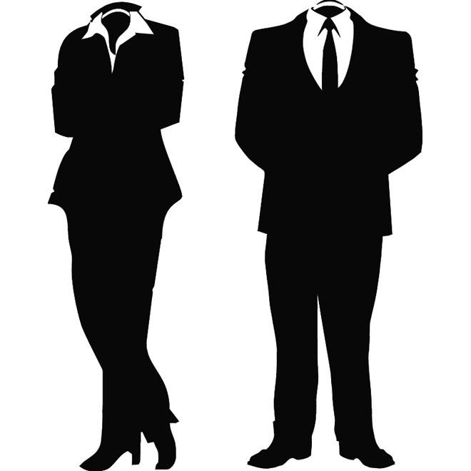 Corporate Silhouette