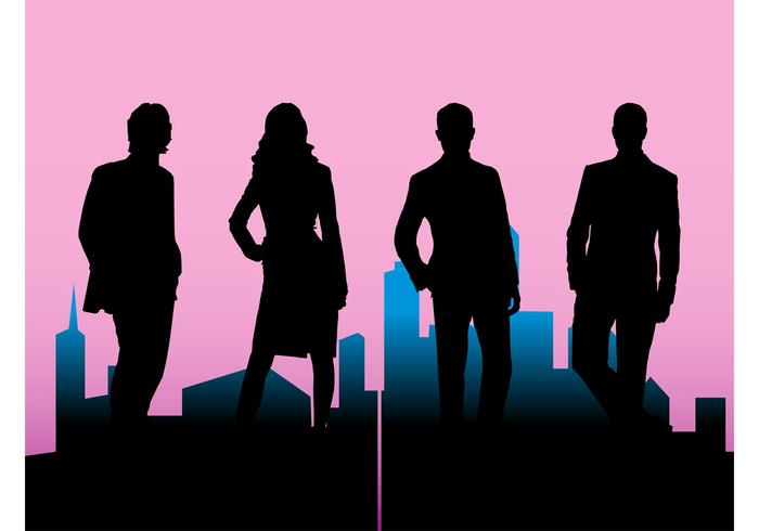 700x490 Corporate Silhouettes