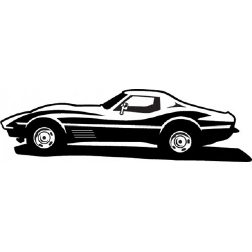 corvette silhouette at getdrawings com free for personal use rh getdrawings com corvette clip art silhouette corvette clip art images