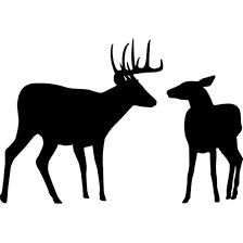224x224 Image Result For Deer Silhouette Cottage Ideas