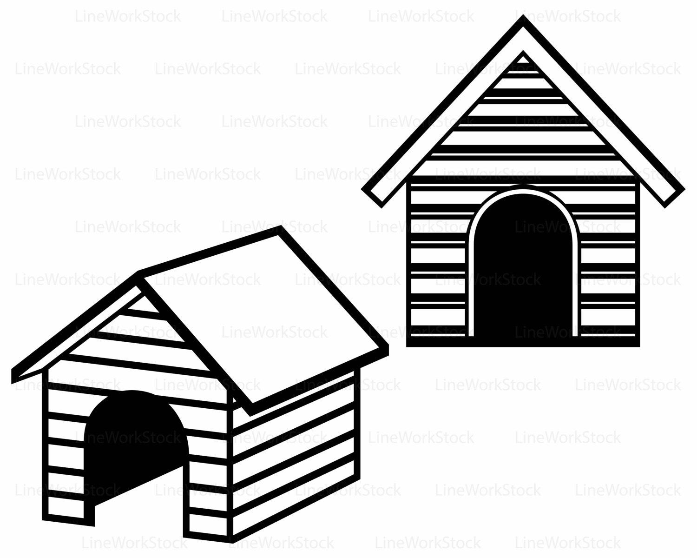 1500x1200 Dog House Svghouse Dog Clipartdog House Svghouse Dog Silhouette