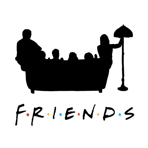 630x630 Friends Couch Silhouette