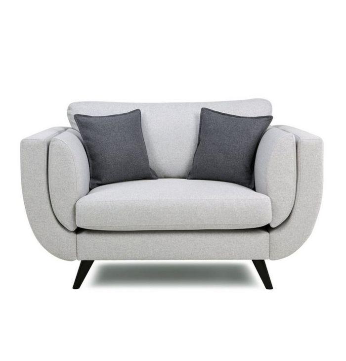 700x730 Gray Silhouette Armchair Buyerfox Retails Pvt Ltd