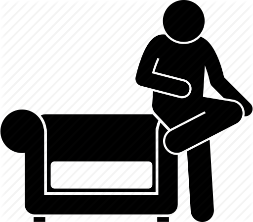 512x448 Arm Rest, Couch, Man, People, Sitting, Sofa Icon Icon Search Engine