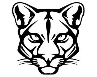 Cougar Silhouette at GetDrawings com | Free for personal use Cougar