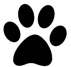 cougar silhouette clip art at getdrawings com free for personal rh getdrawings com paw print clipart paws clip art free