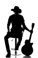Country Singer Silhouette