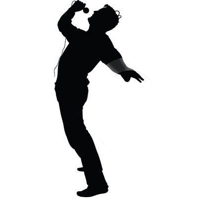400x420 Male Singer Silhouette Clip Art Hear More Original Compositions