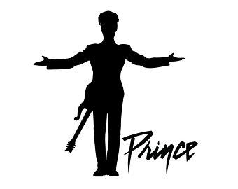 340x270 Prince Silhouette Etsy