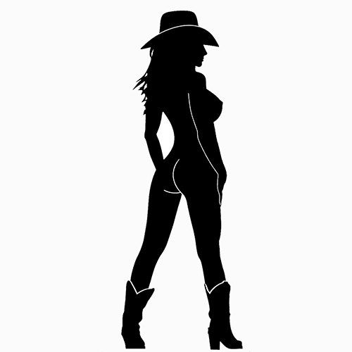 500x500 Country Girl Clipart