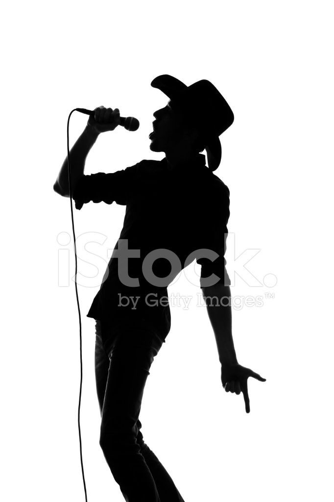 682x1024 Country And Western Silhouette Stock Photos